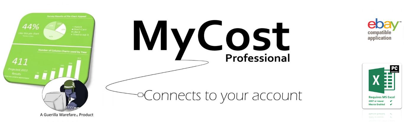 The Certified Ebay Spreadsheet For Sellers Mycostpro